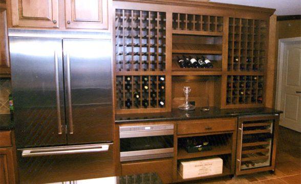 Sub Zero Wine Storage & China Cabinets Bars Wine Storage u0026 Buffets u2013 Randall Cabinets u0026 Design