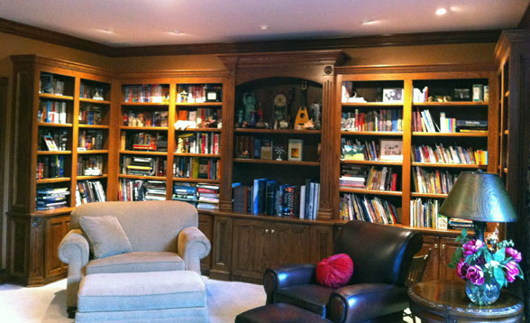 home library bookshelves - Home Library Bookshelves