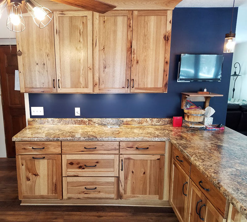 Rustic Oak Kitchen Cabinets: Haas Kitchen Cabinets